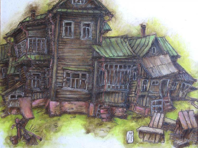 старый рисунок:
